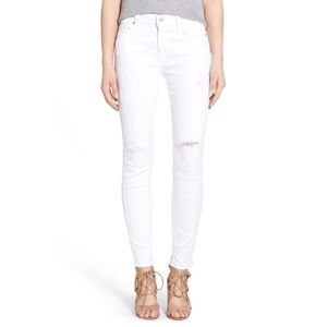 Citizens of Humanity Rocket Crop in Optic White